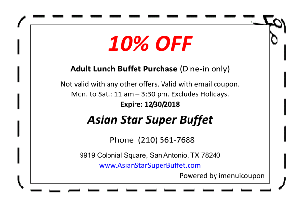 Swell Coupon Asian Star Super Buffet Download Free Architecture Designs Embacsunscenecom