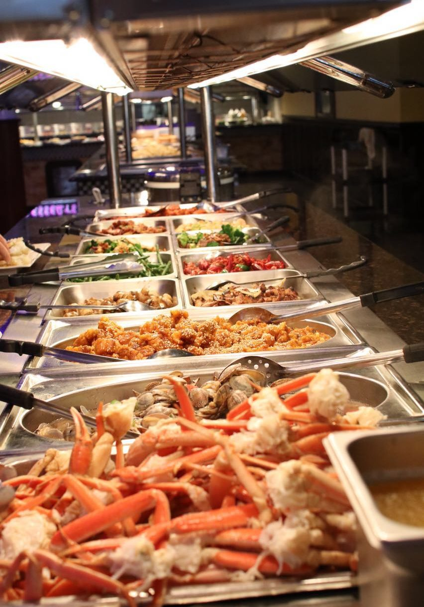 Asian star super buffet asian buffet seafood buffet for Fish buffet near me